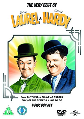 The Very Best of Laurel & Hardy [DVD] [2015]