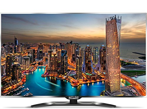 Mitashi MiE050v014K 127cm (50 inches) 4K Ultra HD LED TV (Silver/Black)