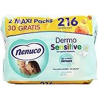 Nenuco Toallitas Dermosensitive para pieles sensibles - 216 unidades