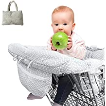 79c09eb0363 Housse de chaise haute Réglable Bébé Supermarché Shopping Trolley Protège  Siège universelle pour tout-petits