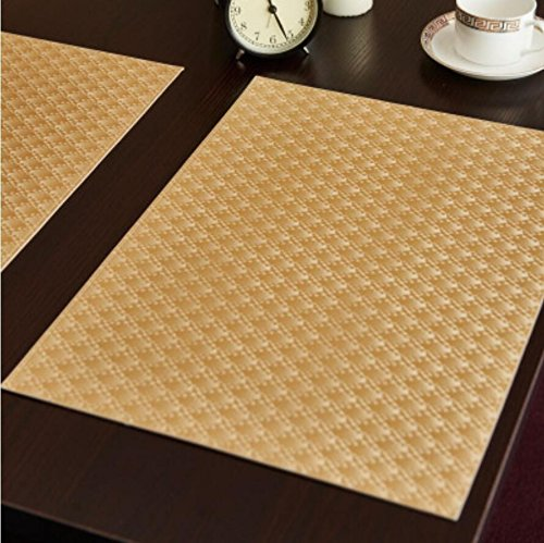 GS~LY Caldo tovaglia Romance/Table runner rettangolare pad termico high-end hotel tabella mat ambientale europea coasters impermeabile per home hotel ristorante party ,