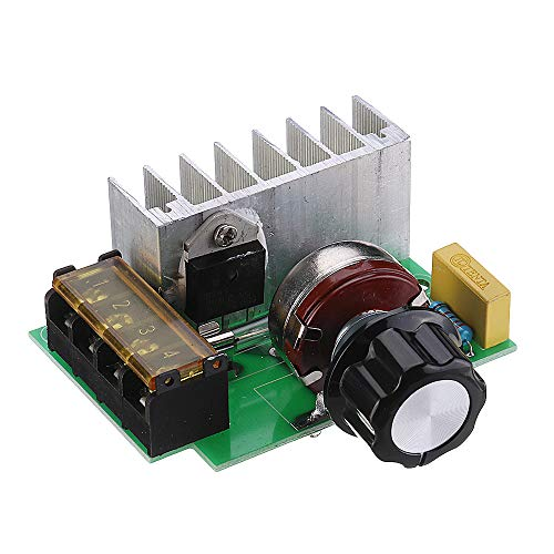 TuToy Hohe Effizienz Ac 0V-220V Scr Voltage Regulator Pwm Motor Speed Controller Dual Capacitor Mit Knob Current Protection -