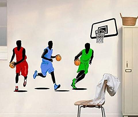 Wandtattoo Spielen Basketball Home Aufkleber Haus Dekoration WallPaper Abnehmbare Wohnen Esszimmer Schlafzimmer Kunst Bild Murals DIY Stick Mädchen Jungen Kinder Nursery Baby Dekoration