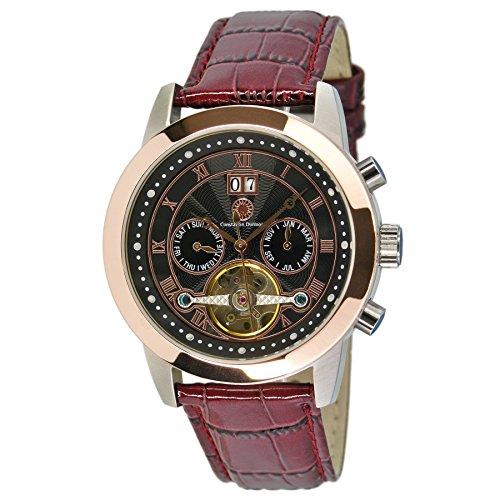 Constantin Durmont Reloj automático CD-CATA-AT-LT-STRG-BK Burdeos 42 mm