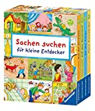 Sachen suchen für kleine Entdecker (Schuber): Meine Wimmelbilder / Bei den Tieren / Auf dem...