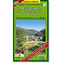 Wander-, Ski- und Radwanderkarte Masserberg Schmiedefeld a.R. und Umgebung: Ausflüge zwischen Ilmenau, Gehren, Großbreitenbach, Sachsenbrunn, Neustadt und Schleusingen. 1:35000 (Schöne Heimat)