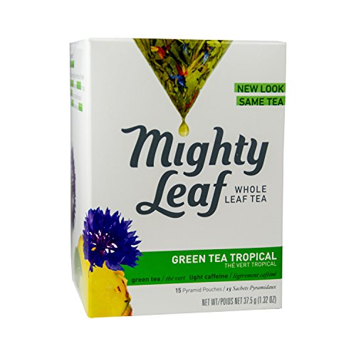 Mighty Leaf Tea - Green Tea Tropical 15 Teebeutel