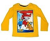 Super Wings - Camiseta de manga larga - Casual - Manga Larga - para niño amarillo 5 años
