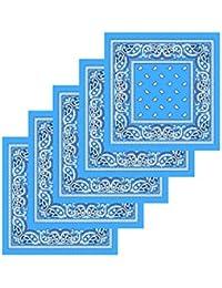 7c7f61f87aa KARL LOVEN Lot de bandanas 100% Coton paisley foulard fichu bandana 25  couleurs au choix