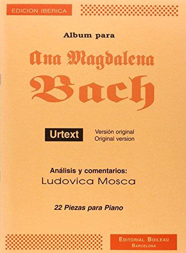 Album para Ana Magdalena (URTEXT) (L.Mosca)