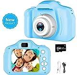 Videocamera per bambini, videocamera/video HD 1080p, schermo LCD da 2 pollici, fornito con scheda di memoria 32G-GR-003