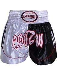 Cortocircuitos tailandeses muay kickboxing cortos mma boxeo corto de calidad superior de formación, color , tamaño mediano
