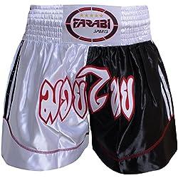 Pantalones cortos de gran calidad, ideales para practicar deportes como boxeo o muay thai, talla L