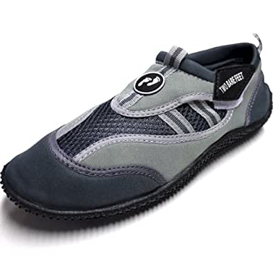DX WETSHOES by Two Bare Feet - Adults / Childrens - SIZES INFANT 6 TO ADULT 12 Unisex - (Kids/Infant 5, GREY)