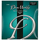 Dean Markley DM-2608A-XL Lot de 4 cordes en Acier plaqué nickel pour Guitare Basse à tirant très faible 40-95