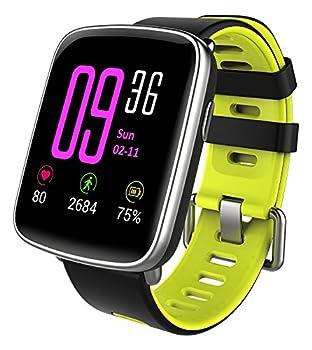 Yamay Smartwatch Bluetooth Smart Watch Uhr Mit Pulsmesser Armbanduhr Wasserdicht Ip68 Fitness Tracker Armband Sport Uhr Fitnessuhr Mit Schrittzähler,schlaf-monitor,setz-alarm,stoppuhr,sms-, Anruf-benachrichtigung Pushkamera-fernsteuerung Musik Für Android Und Ios Telefon 10