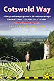 Trailblazer Cotswold Way: Chipping Campden To Bath: 44 Large-Scale Maps & Guides to 48 Towns and Villages: Planning - Places to Stay- Places to Eat