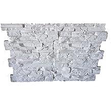 Polima Panel Pizarra Decorativo de Poliuretano, Blanco, Medidas Ancho 103 Alto 88 Grueso 4