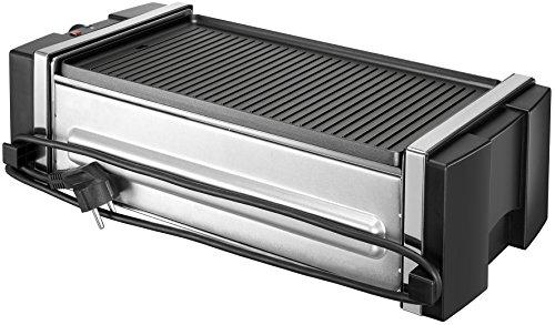 Unold Grill & Kebab, Gleichmäßiges Grillen der Spieße durch zuschaltbare Rotation,Farbe: Schwarz,1.200 Watt, 58515 Gill & Kebab, Metall, 46.9 x 24 x 13.1 cm 2-Einheiten