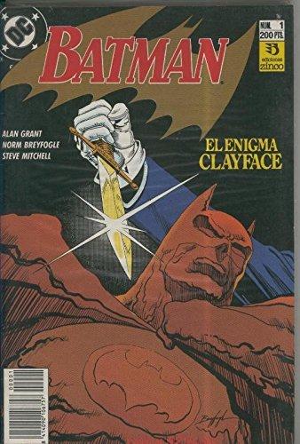 Batman especial: El enigma Clayface, coleccion
