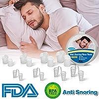Dispositivos Anti Rronquidos, Soluciones Anti Ronquidos Anti Ronquidos Respiraderos de Nariz Antirronquidos Ronquido se Detiene Ronquido Dilatadores Nasales Ayudas para Dormir para Hombres Mujeres
