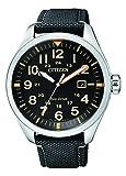 Citizen Herren Analog Quarz Uhr mit Textil Armband AW5000-24E