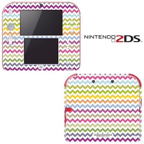 chevron-rainbow-color-pattern-decorative-video-game-decal-cover-skin-protector-for-nintendo-2ds-by-n