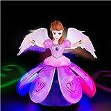 Mureshop Dancing Angel Princess Toy for Kids with Music, Flashing Lights, Dancing