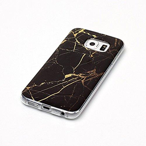 Qiaogle Téléphone Coque - Soft TPU Silicone Housse Coque Etui Case Cover pour Apple iPhone 5 / 5G / 5S / 5SE (4.0 Pouce) - YH48 / No.13 Naturel Marbre YH44 / Colour9