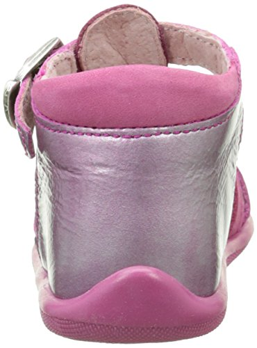 Minibel Kashmir, Chaussures Premiers pas bébé fille Rose (83 Verni Fushia/Cyclamen)