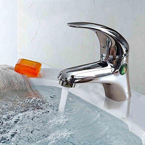 Tout robinet de bassin Étape Hot Bassin Et Faucet froide Cuivre Lavabo eau du robinet bassin Electroplating