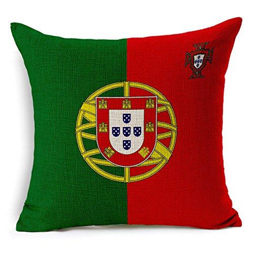 GGFTX Fans, die Versorgung, die Russische wm - Kissen, Fußball - Memorabilia, Nationale Flagge Kissen,Portugal (Portugal Mantel)