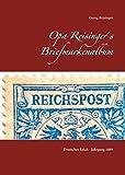Opa Reisinger´s Briefmarkenalbum: Deutsches Reich - Jahrgang 1889