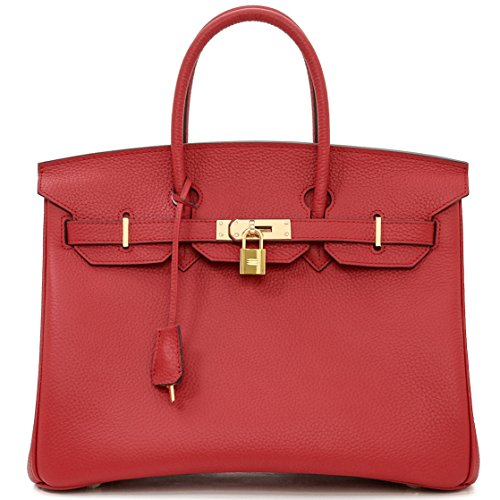 Macton, Borsa a mano donna nero Black 35cm Red