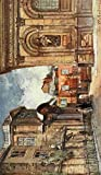 A4 Photo Fulleylove John 1845 1908 Oxford 1922 The Old Ashmolean Museum & Sheldonian Theatre Print Poster