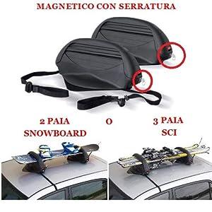 FÜR SEAT ATECA SKIHALTERUNG oder Snowboard MAGNETISCH FÜR UNIVERSAL GEHÄUSE FÜR Nicht Glas