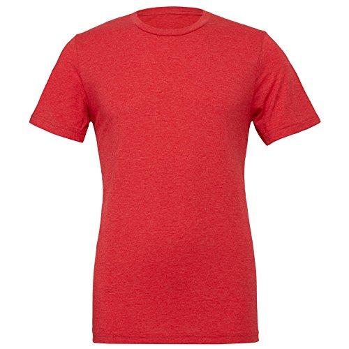 Bella Canvas Herren Modern T-Shirt Light Red Triblend