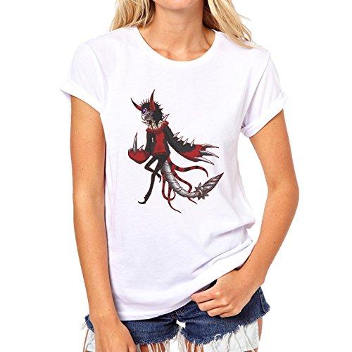 Digimon Agumon Greymon Wargreymon Wargreymon Metal Damen T-Shirt Weiß