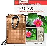 Foto Kamera Tasche RETRO CASE Set mit Fotobuch Ihre Ixus für 170 175 180 220 255 510 540