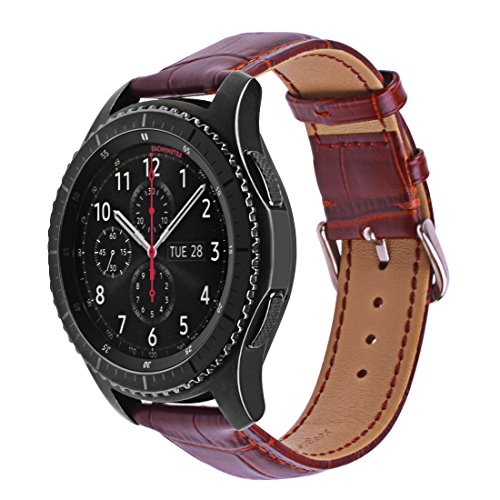 22mm Gear S3Watch Band, Iitee en acier inoxydable Link Bracelet de montre de remplacement pour Samsung S3Classic/Gear S3Frontier