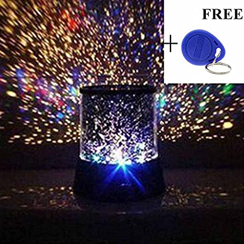 HuntGold Starlight LED Night Light Galaxy Sky Constellation Lamp Projector Christmas Light