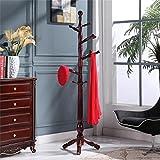 Juli Garderobe Antique Triangle Gerüst Solid Wooden Clothes Rack Hanging Interior Hanging Hanger Einfache Moderne Massivholz Kleider Rack Kleider Rack