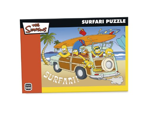 Paul Lamond Games, I Simpson, Safari, Puzzle da 500 pezzi