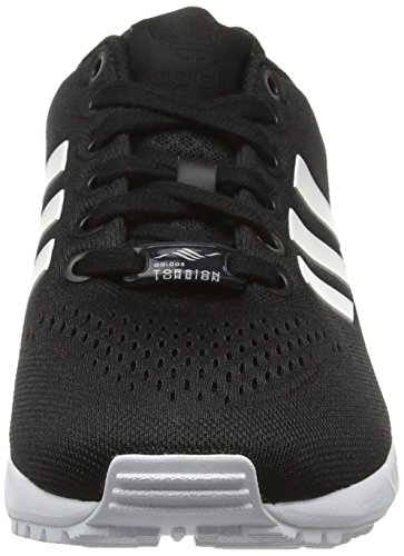 adidas Unisex-Erwachsene Zx Flux Em Low-Top Schwarz (Core Black/Ftwr White/Core Black)