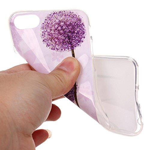 """inShang Hülle für iPhone 7 4.7"""" ,Ultra Schlank und leicht TPU Bequem Schutzhülle Rückcover (Back Case) design für Handy iPhone7 4.7 inch, 02"""