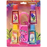 Trolls 4 Pack Hand Sanitizers With Holder