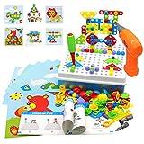 Puzzles 3D Montessori de Juguetes 223 PCS Rompecabezas Construcción Juegos Educativos Regalos para Infantiles 3 4 5 6 7 Años