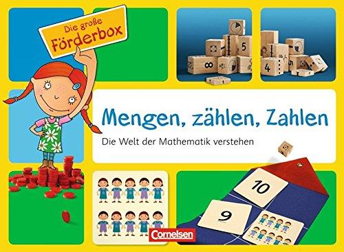 Förderboxen für KiTa und Anfangsunterricht: KiTa-Förderboxen: Mengen, zählen, Zahlen (MZZ): Die Welt der Mathematik verstehen. Koffer mit Fördermaterialien und Handreichungen