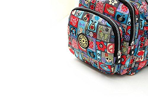 Feoya Borsa Messenger, multicolore (multicolore) - HF02FGH0029 multicolore