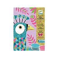Djeco DJ08663 For Older Children-Coloured Sands, Multicoloured